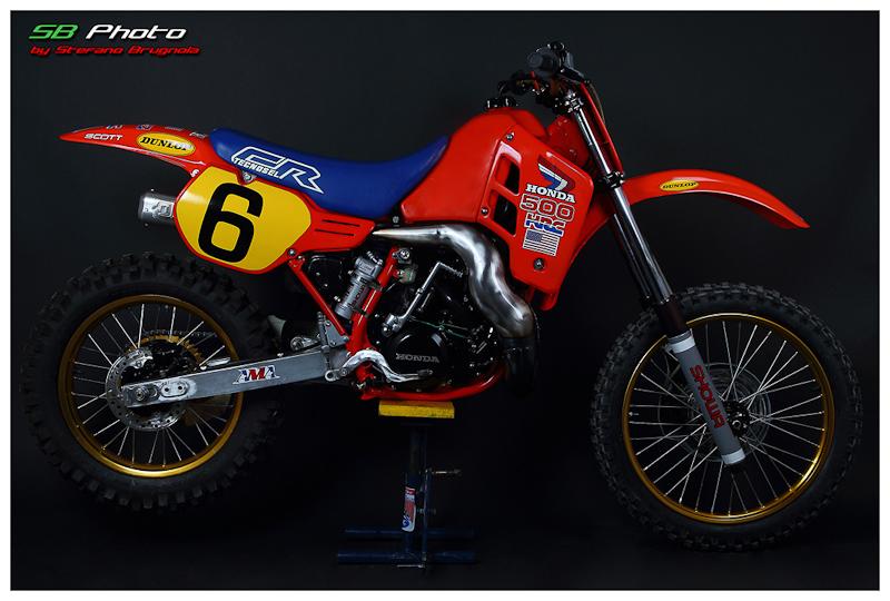 Picture 174 171 187 Honda Cr 500 Replica David Bailey
